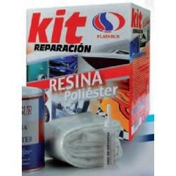 Kit Reparación Resina Poliéster